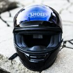 Shoei Helmets can protect your head & improve visibility
